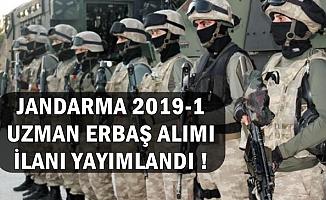 2019-1 Jandarma Uzman Erbaş Alımı İlanı Yayımlandı-İşte Şartlar