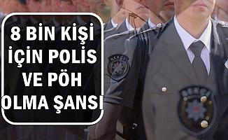 8 Bin Kişiye Polis ve PÖH Olma Fırsatı 2019 (Pa.edu.tr Başvuru Detayları)