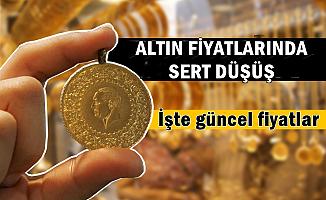 Altın Fiyatlarında Sert Düşüş (Çeyrek-Cumhuriyet Altını-Döviz Kurları)