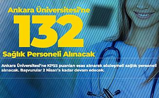 Ankara Üniversitesi Sözleşmeli 132 Personel Alımı Başvuruları 2 Nisan'da Sonlanacak