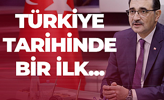 Bakan Bugün Açıkladı! Türkiye Tarihinde İlk Kez Yapıldı