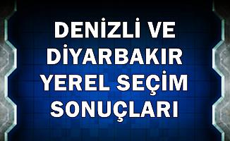 Denizli-Diyarbakır Yerel Seçim Sonucunda Son Durum 2019
