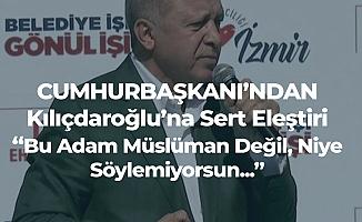 Erdoğan'dan CHP Genel Başkanı'na 'Yeni Zelanda Saldırısı' Tepkisi : Bu Adam Müslüman Değil, Hristiyan