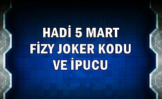 Hadi 5 Mart Fizy Joker Kodu ve İpucu Sorusu: Günün Listesi 7. Şarkı