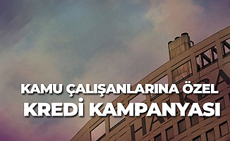 Halkbank Kamu Çalışanlarına Özel Kredi Kampanyası Başlattı