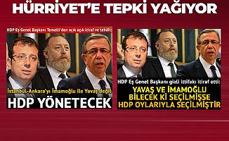 Hürriyet Gazetesi Tepkilerden Sonra Manşeti Değiştirdi!