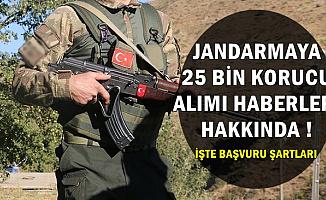 İlçe Jandarmalara 25 Bin Korucu Haberleri Hakkında (Başvuru Şartları 2019)