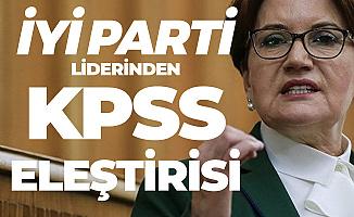 İYİ Parti Lideri'nden İşsizlik, EYT, KPSS ve 3600 Ek Gösterge Çıkışı