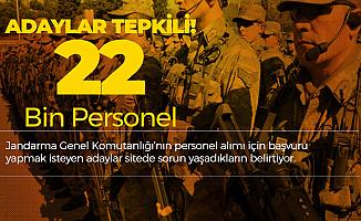 Jandarma 22 Bin Personel Alımı Konusunda Adaylar Tepkili! Mağduriyet Var!