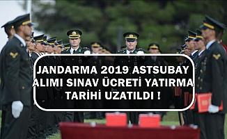 Jandarma Astsubay Alımı Sınav Ücreti Yatırma Son Tarihi Uzatıldı