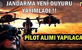 Jandarma'dan Yeni Duyuru: Pilot Alımı Başvuru Tarihleri Belli Oldu