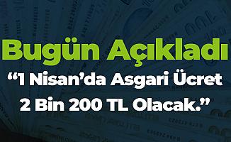 Kılıçdaroğlu 'Asgari Ücret Nisan'da 2 Bin 200 TL Olacak, Aradaki Fark Ödenecek'