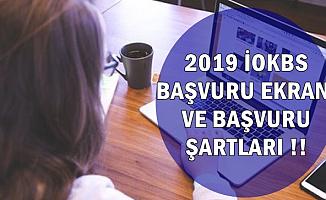 MEB 2019 Yılı Bursluluk Sınavı Başvuru Ekranı ve Şartları (İOKBS)