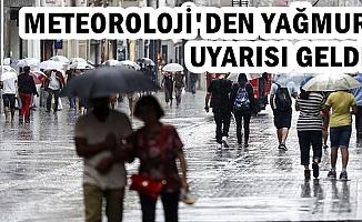Meteoroloji'den Şiddetli Yağmur Uyarısı (İstanbul, Ankara Hava Durumu)