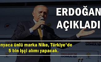Nike 5 Bin Personel Alımı Yapacak