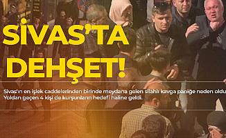 Sivas'ta Can Pazarı! Ortalık Bir Anda Karıştı! Yaralılar Var