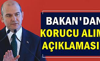 Süleyman Soylu'dan 2019 Korucu Alımı Açıklaması-İşte Başvuru Şartları