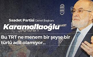Temel Karamollaoğlu'ndan TRT'ye Sert Tepki :Geçmemiş Adalet Bunların Tezgahından
