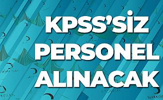 Türk Kızılayı KPSS Şartsız Yeni Personel Alımı Duyuruları Yayımladı