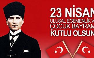23 Nisan Kutlama Resmi (Atatürk Resimleri ve 23 Nisan Şiirleri-Mesajları)
