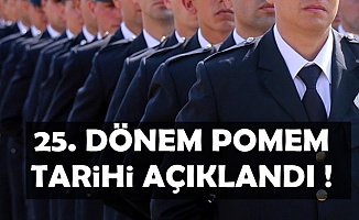 25. Dönem POMEM Polis Alımı Tarihi Açıklandı