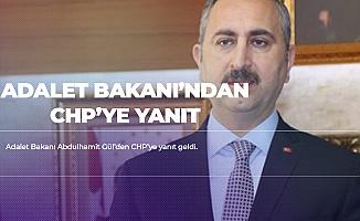 Adalet Bakanı Gül'den CHP'ye Sosyal Medya Hesabı Üzerinden Yanıt Geldi