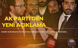 AK Parti İl Başkanı: Milletimizin Kararının Başımızın Üstünde Yeri Vardır