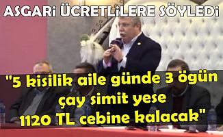 AK Partili İsimden Asgari Ücret Hesabı: Günde 3 Öğün Çay Simit Yerseniz..