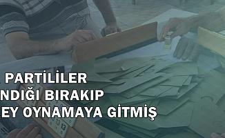 AK Partili Sandık Görevlileri, Sandığı Terk Edip Okey Oynamaya Gitmiş