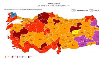Büyük Birlik, Saadet ve Demokrat Parti'nin Kazandığı Belediyeler