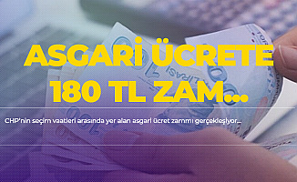 CHP'ye Geçen Belediyelerde Asgari Ücrete 180 TL Zam Geldi