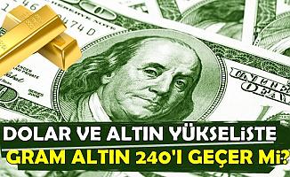 Dolar ve Altın Yükselişe Geçti (Altın Fiyatları Yükselecek mi?)
