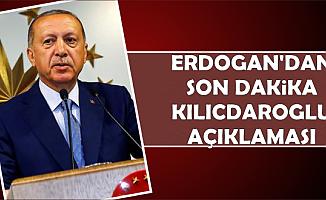 Erdoğan'dan Kılıçdaroğlu'na Saldırı sonrası İlk Açıklama