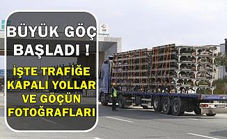 İstanbul Havalimanı'na Taşınma Devam Ediyor-Büyük Göç Kaç Gün Sürecek , Hangi Yollar Trafiğe Kapalı?