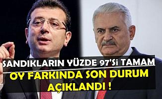 İstanbul Seçim Yarışında Son Durum Açıklandı-11 Nisan 2019