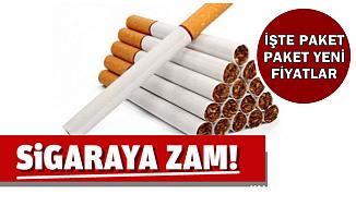 İşte Zam Sonrası Sigara Fiyatları