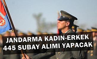 Jandarma Kadın-Erkek 445 Subay Alımı İlanı Yayımladı