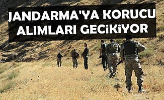 Jandarma'ya Korucu Alım Gecikiyor