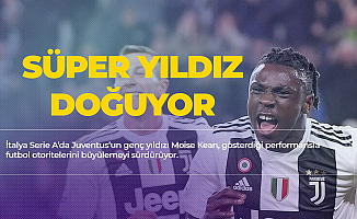 Juventus'ta Moise Kean Rüzgarı Esiyor! Yine Attı! Juventus - Milan Maç Sonucu : 2-1