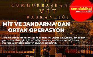 Mardin'de MİT ve Jandarma'dan Eş Zamanlı Operasyon! Kıskıvrak Yakalandılar