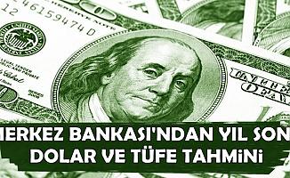 Merkez Bankası Yıl Sonu Dolar ve TÜFE Tahminini Yayımladı (Dolar Yükselecek mi?)