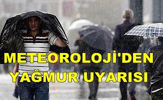 Meteoroloji'den Şiddetli Yağmur Uyarısı: İşte Hava Durumu