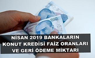 Nisan 2019 En Uygun Konut Kredisi-Bankaların Kredi Faiz Oranları