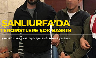 Şanlıurfa'da 3 Bölücü Terörist'in Yakalandığı Öğrenildi