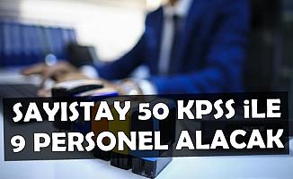 Sayıştay 50 KPSS ile Kamu Personeli Alımı Yapacak-Yüksek Maaşla