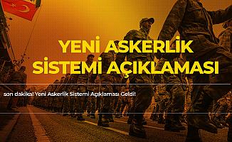 Son Dakika! Cumhurbaşkanlığı'ndan Yeni Askerlik Sistemi Açıklaması