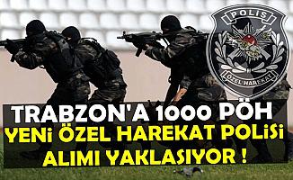 Trabzon'a 1000 Özel Harekat Polisi: Yeni PÖH Alımı Yaklaşıyor