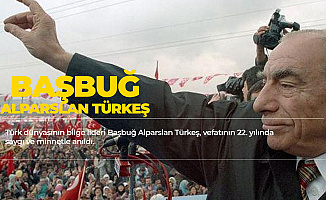 Türk Dünyasının Bilge Lideri Başbuğ Alparslan Türkeş Vefatının 22. Yılında Anıldı