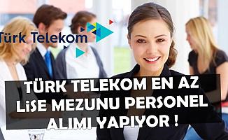 Türk Telekom En Az 2500 TL Maaşla Personel Alıyor-İŞKUR ve Kariyer İlanı