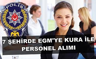 Türkiye İş Kurumu'nda Yayımlandı: 7 Şehirde EGM'ye Kura ile Kamu Personeli Alımı